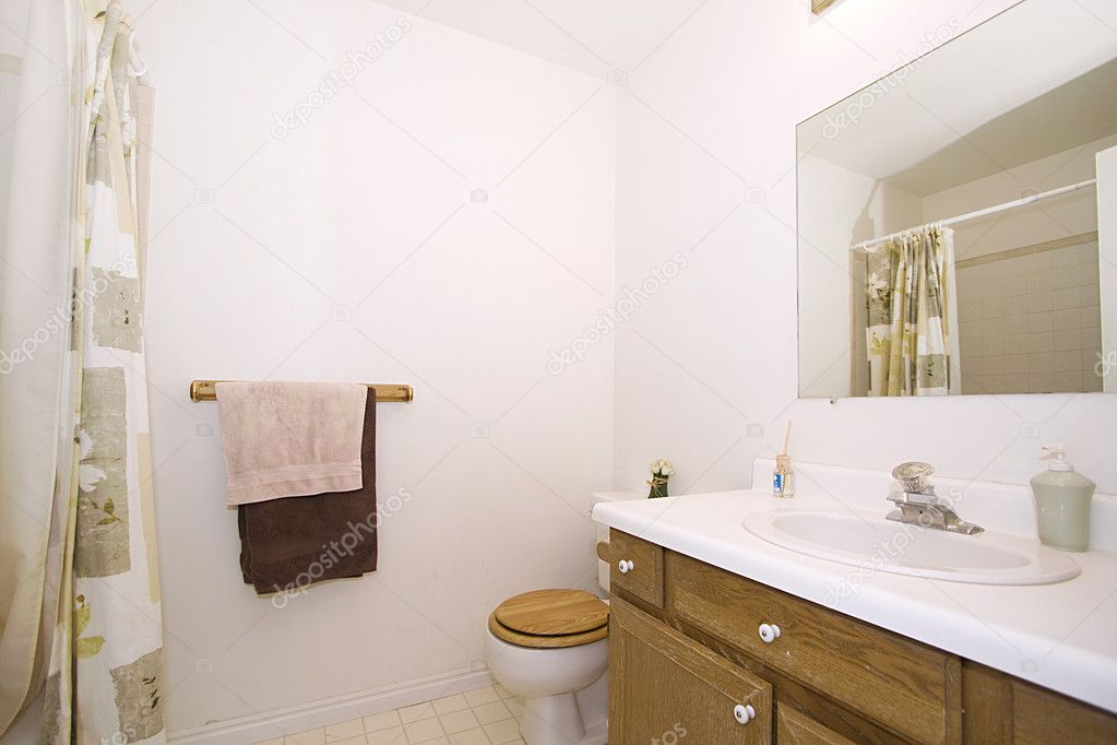 Bathroom - Close up on an interior of a house  Stock Photo #5712175