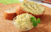 Herb butter — Stock Photo