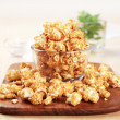 Caramel corn - Stock Photo