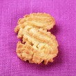 S-shaped cookie — Stock Photo