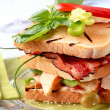 Club sandwich — Stock Photo #5548446