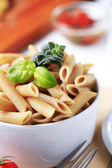 Whole wheat pasta — Stock Photo