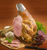 Leg of ham — Stock Photo