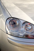 Front lights of a car — Stock Photo
