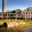 Abandoned factory - Stockfoto