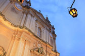 Kathedraal van mdina — Stockfoto