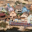 Popeye Village, Anchor Bay, Malta — Stock Photo