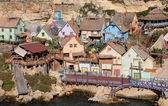 Popeye Village, Anchor Bay, Malta — Stock Photo
