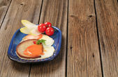 Cooked breakfast — Stock Photo