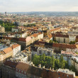 Aerial view of Prague City, Czech Republic — Stock Photo