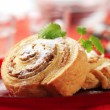 Danish pastries - Stock Photo