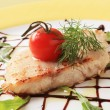 Salmon trout fillet — Stock Photo
