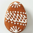 Gingerbread Easter egg — Stock Photo