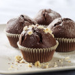 Chocolate muffins — Stock Photo #6170509