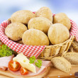 Foto Stock: Bread buns