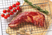 Smoked pork ribs — Stock Photo