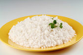 Boiled white rice — Stock Photo