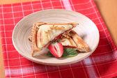 Toasted sandwich — Stock Photo