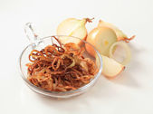 Browned onion — Stock Photo