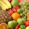 Assortment of fresh fruit — Stock Photo