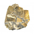 Pyrite, stone - Stock Photo