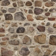 Cobbled wall background — Stock Photo