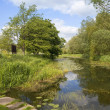 Stock Photo: English waterway