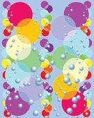 Rainbow cirklar — Stockvektor