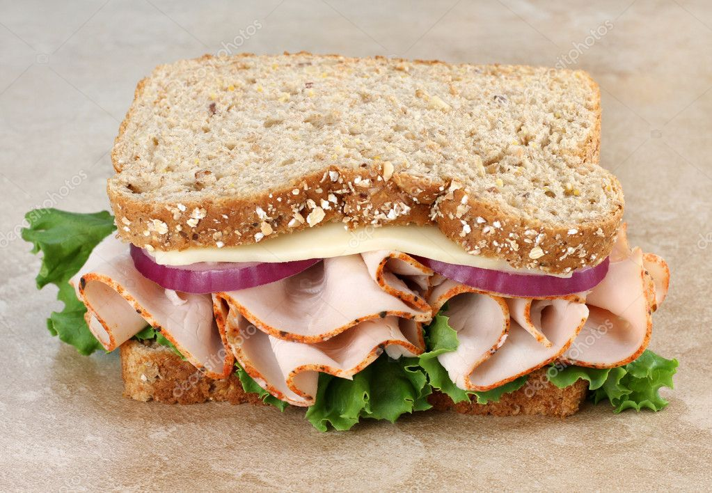 how to make healthy bread sandwich
