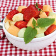 Healthy Fresh Fruit Salad — Stock Photo