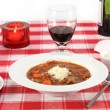 Minestrone Beef Soup — Stock Photo