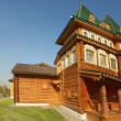 Wooden palace in Kolomenskoe (panorama).Moscow, Russia - Stock Photo