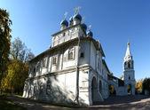 Moscow, federacja rosyjska, kolomenskoje. kościół matki bożej kazańskiej (dzielnicy vasastan). — Zdjęcie stockowe