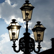 Vintage decorative street lamp — Stock Photo #6733991