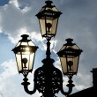 Vintage decorative street lamp — Stock Photo