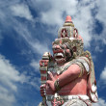 Indonesia, Bali, Balijsky Induistsky sculpture — Stock Photo #6734925