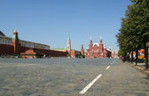Red Square on a summer day, Moscow, Russia — Stock Photo