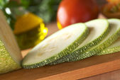 Zucchini Slices — Stock Photo