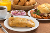 Peruvian Breakfast — Stock Photo