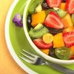 Fresh Fruit Salad — Stock Photo #5550495