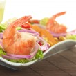 Peruvian Ceviche with King Prawn — Stock Photo #5576058