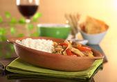 Peruvian Food Called Lomo Saltado — Stock Photo