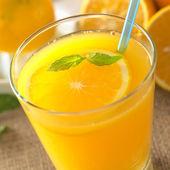Fresh Orange Juice — Stock Photo