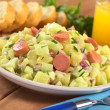 Potato Salad with Sausage — Stock Photo #5797405