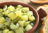 Potato-Green-Bean Hotpot — Stock Photo