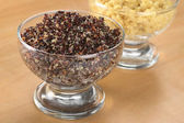 Cooked Red and White Quinoa — Stock Photo