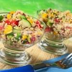 Vegetarian Quinoa Salad — Stock Photo