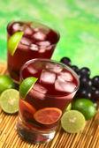 Refreshing Grape Lemonade — Stock Photo