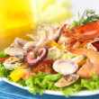 Seafood Salad — Stock Photo #6036432
