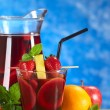 Refreshing Sangria — Stockfoto